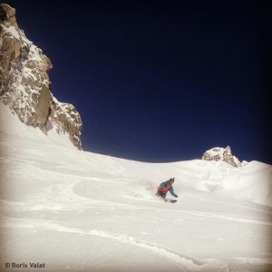 ski petit envers chamonix