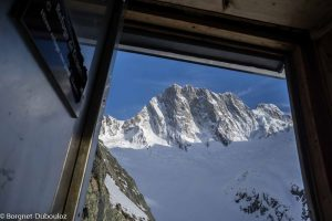 ski linceul grandes jorasses yann borgnet