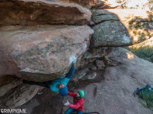 bloc albarracin escalade bouldering