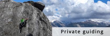 private guiding climbing chamonix