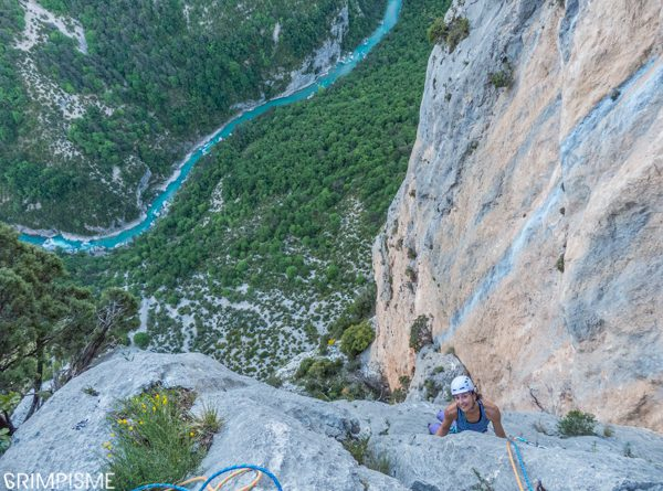 escalade gorges verdon escales grimpisme