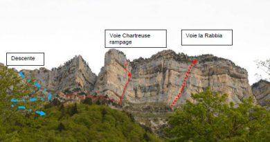 """""""La Rabbia"""", nouvelle voie en Chartreuse"""