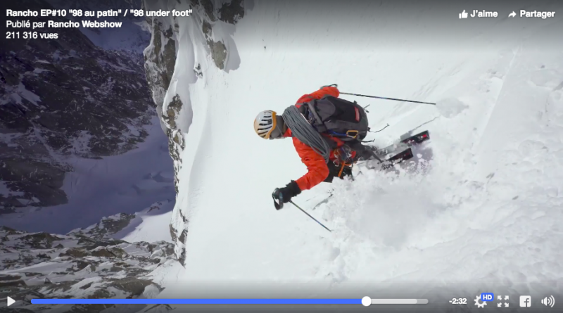 rancho video ski chamonix