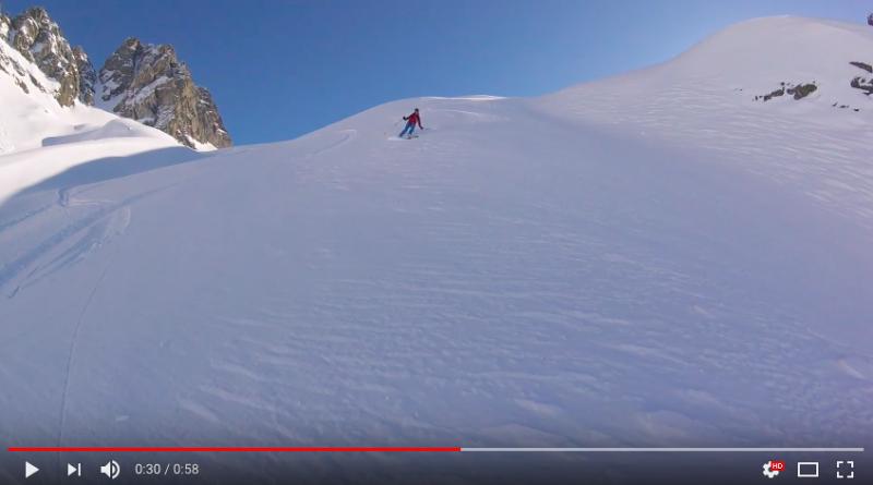 ski randonnée envers aiguilles rouges