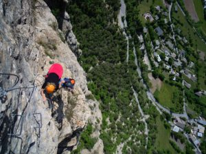 via ferrata six passy chamonix