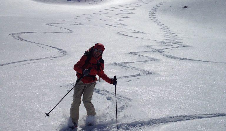 initiation ski randonnée