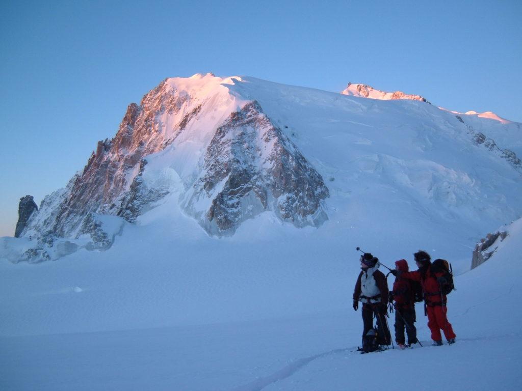ski randonnée vallée blanche