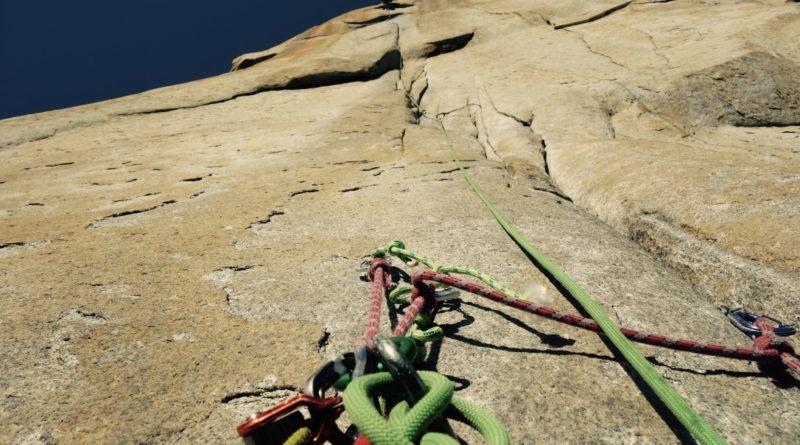 headwall A2 Salathe wall yosemite