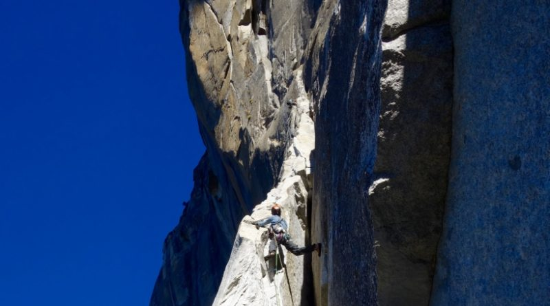 Salathe wall Hollow Ledge El Capitan Yosemite