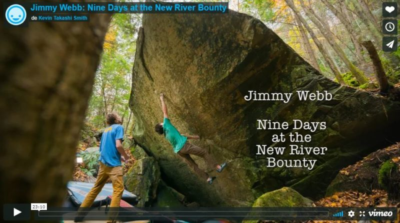 jimmy webb video escalade bloc