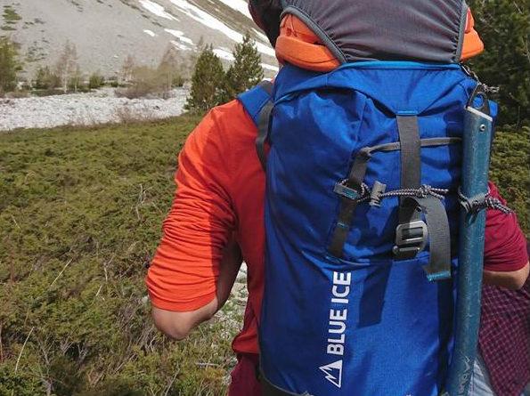 test sac a dos blue ice