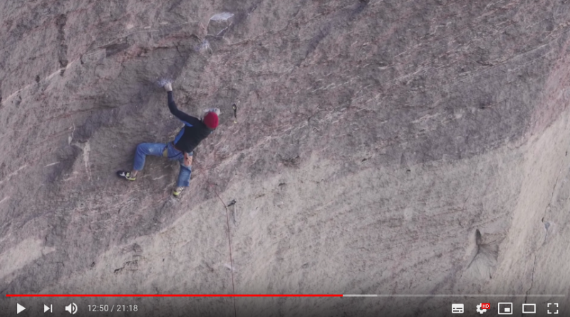 video adam ondra just do it escalade