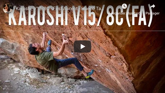 video bloc paul robinson hueco thanks escalade