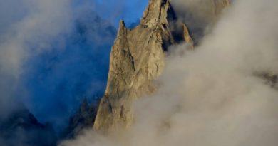 Les Aiguilles de granit de Chamonix