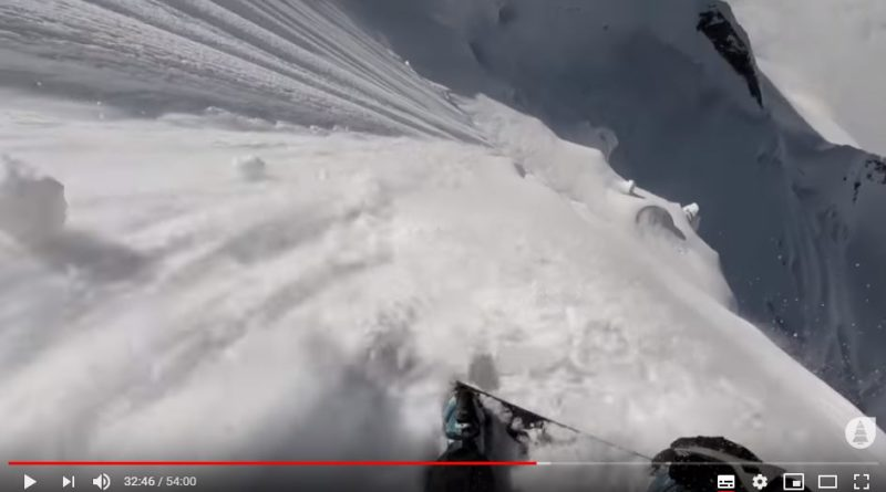 video zabardast ski freeride