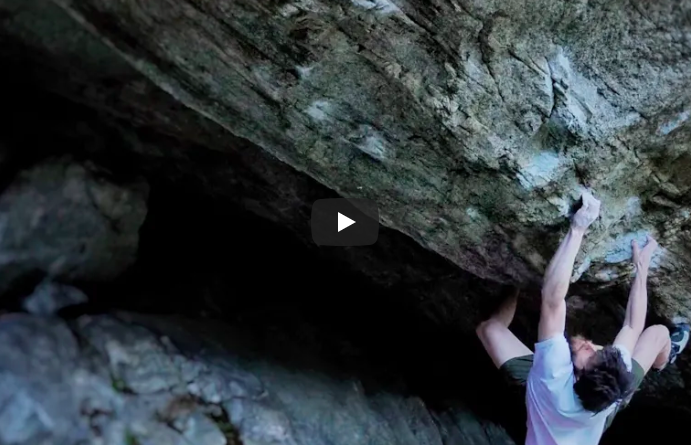 Video bloc escalade, Jimmy Webb, Ephyra, 8C+