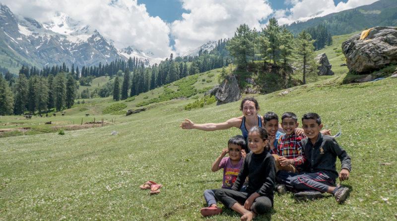 pulga, vallée de la parvati, inde, himalaya