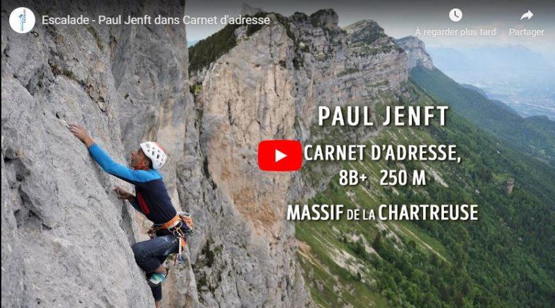 """Paul Jenft, un grimpeur de compétition dans """"Carnet d'adresse"""""""