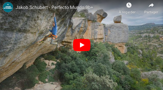 video jakob schubert escalade margalef perfecto mundo