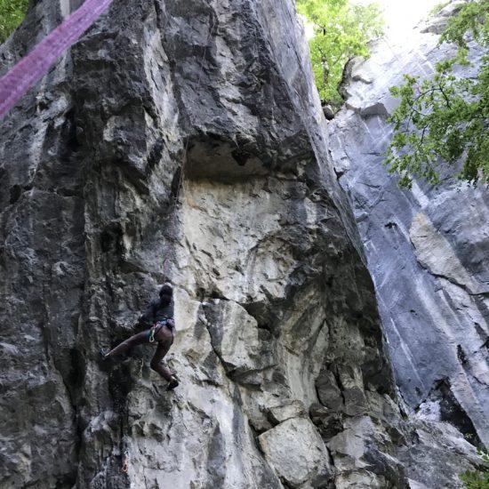 Falaise de Sur Le Mont