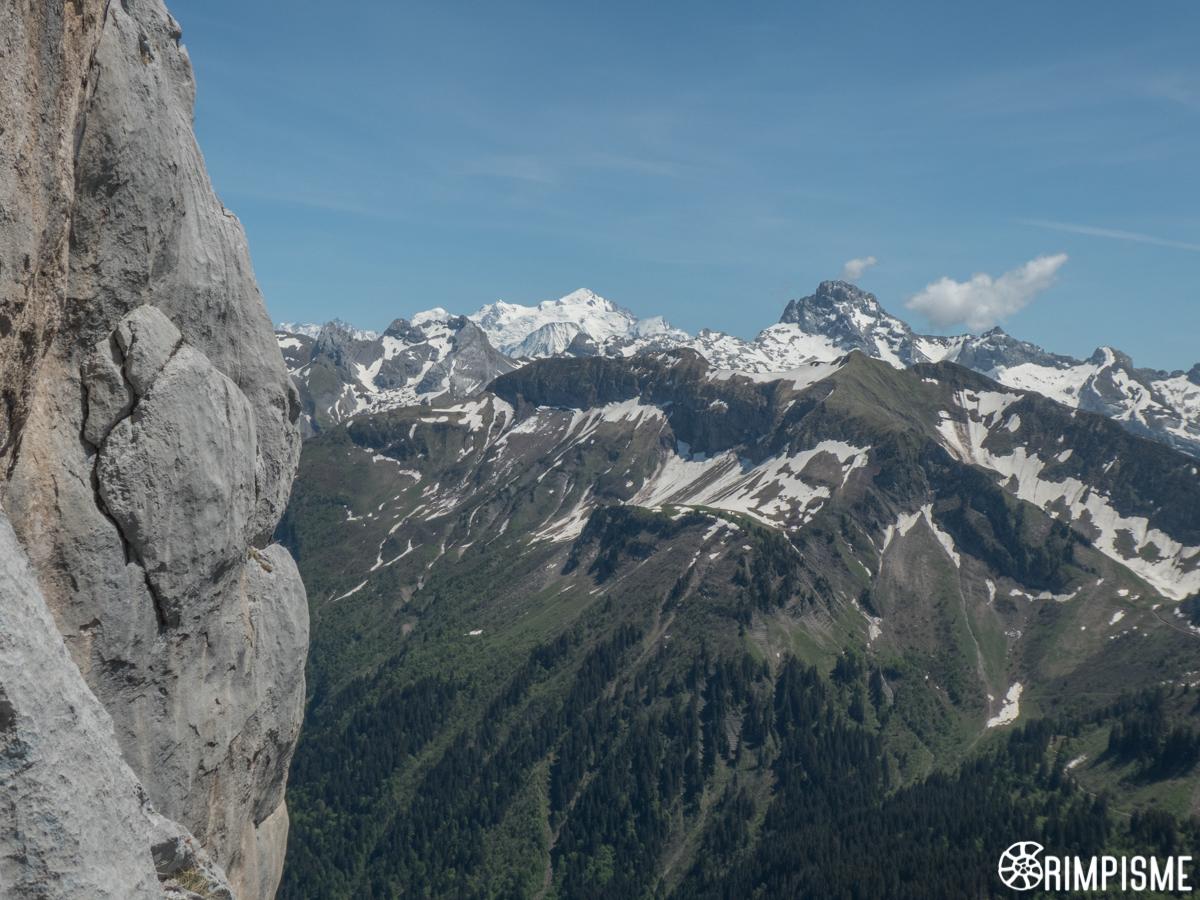Mont Blanc et Pointe Percée