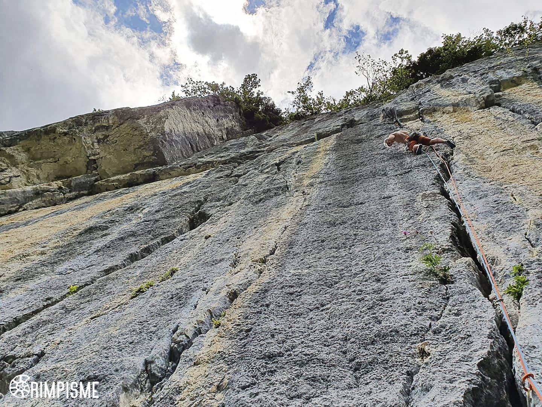 Rebloch cliff