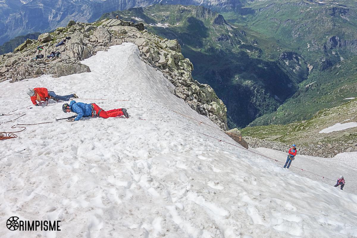 Formation alpinisme avec Julien