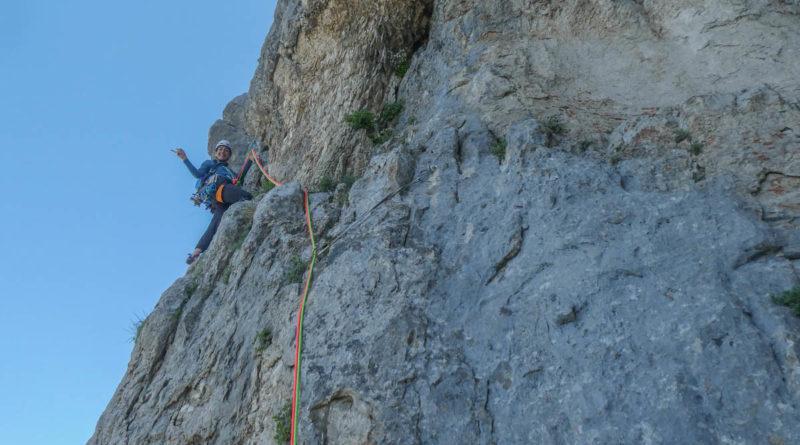 escalade rochers de leschaux