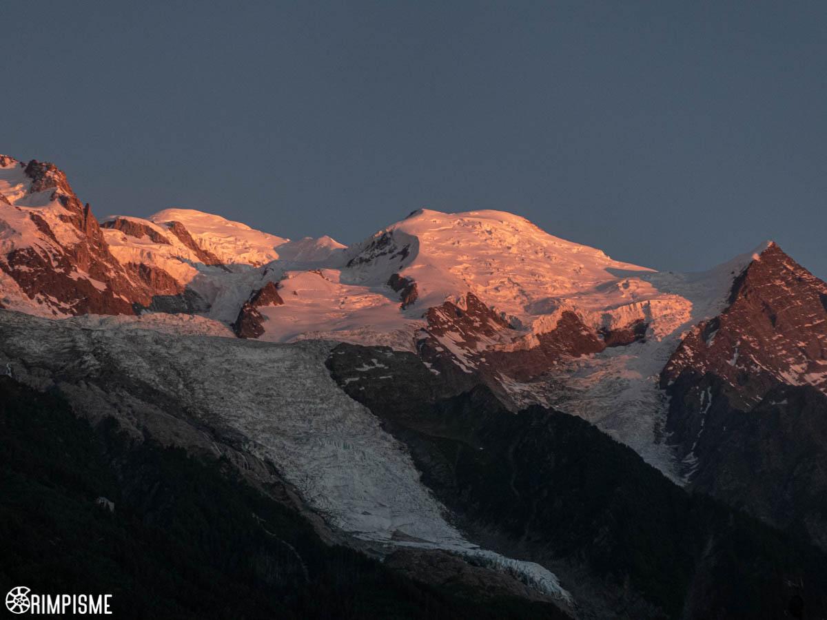 Mont Blanc 7 juillet 2020 21h40