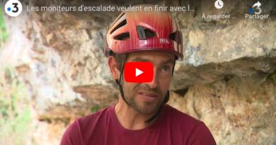 """Vidéo France 3: """"Les moniteurs d'escalade veulent en finir avec la limite d'altitude"""""""