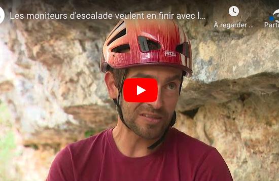 Vidéo France 3: Les moniteurs d'escalade veulent en finir avec la limite d'altitude