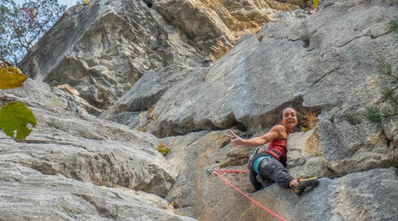 escalade pierre a laya