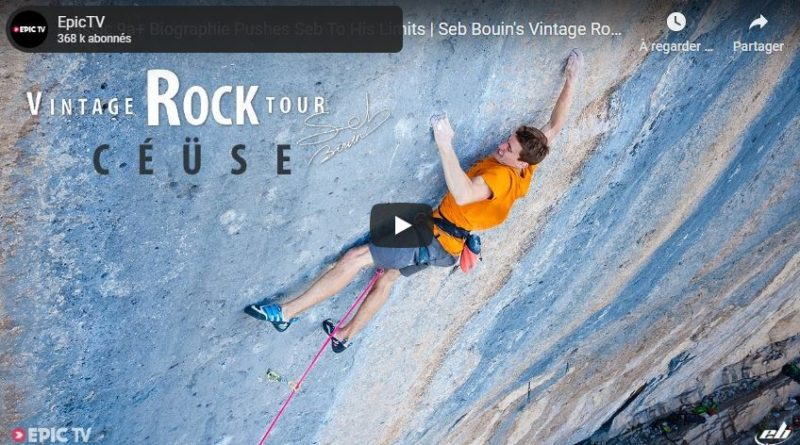 video escalade seb bouin ceuse