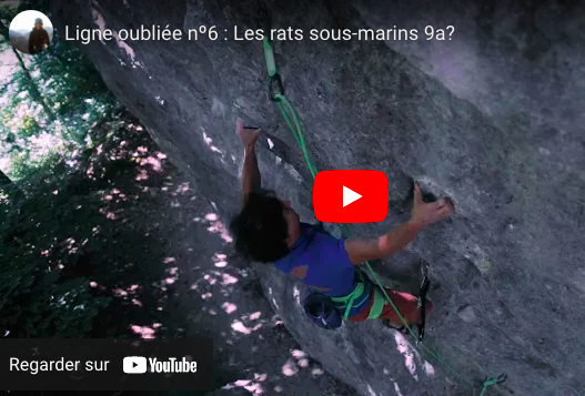 video escalade baptiste derbilly rats sous marins bellosset